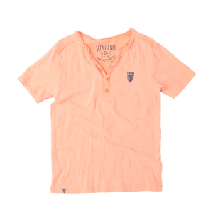 Vingino Basic T-Shirt HARMEN neon orange