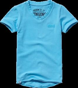 Vingino Basic T-Shirt V-Neck HELLOW soft neon blue