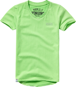 Vingino Basic T-Shirt V-Neck HELLOW soft neon green