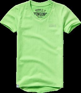 Vingino Basic T-Shirt V-Neck HELLOW soft neon green