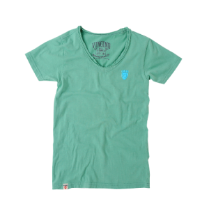 Vingino Basic T-Shirt V-Neck HIDDE punch green