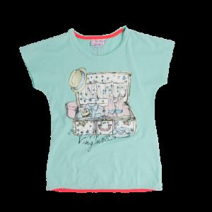 Vingino T-Shirt JASMINA mint grün