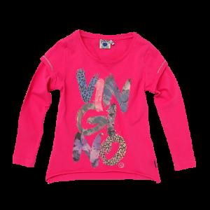 Vingino Langarm-Shirt/Longsleeve KAELEE bright pink