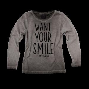 Vingino Langarm-Shirt/Longsleeve KELA dark grey