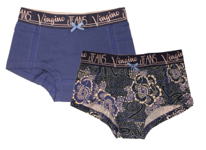 Vingino Hipster/Short 2er-Pack BLUE STARS