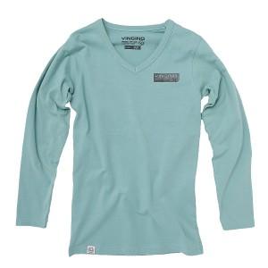 Vingino Langarm-Shirt/Longsleeve V-Neck JENS lagun green