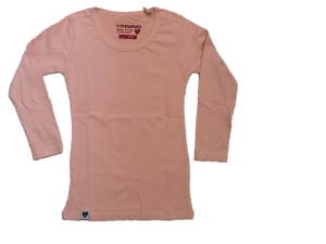 Vingino Basic-Langarm-Shirt/Longsleeve JOELLA silver pink