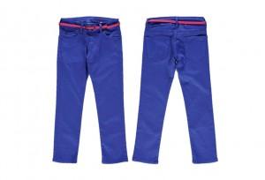 Vingino coloured Skinny Mädchen Jeans Nikita kobaltblau