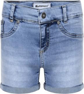 Blue Effect Mädchen Jeans-Short blue bleached NORMAL