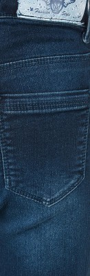 Blue Effect Mädchen High-Waist Jeans ultrastretch darkblue soft used SLIM 176