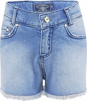 Blue Effect Mädchen High-Waist Jeans Short Seitenstreifen light blue NORMAL