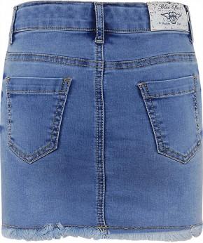 Blue Effect Mädchen Jeans Rock light blue