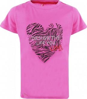 Blue Effect Mädchen T-Shirt DESIGN THE LIFE YOU orchidee