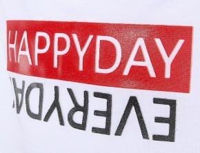 Blue Effect Mädchen Boxy-T-Shirt HAPPYDAY weiß rot schwarz
