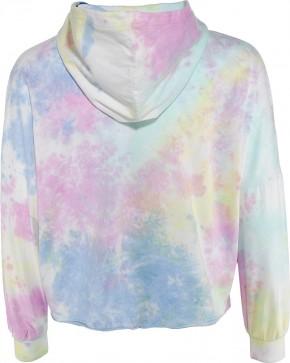 Blue Effect Mädchen Boxy-Kapuzen-Sweat-Shirt / Hoodie HAPPYDAY pastel batik 164