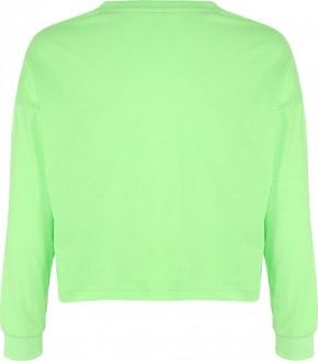 Blue Effect Mädchen Boxy-Sweat-Shirt HAPPYDAY neongrün