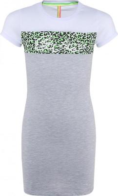 Blue Effect Mädchen Kurzarm Jersey-Kleid ENJOY hellgrau melange
