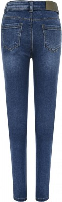 Blue Effect Mädchen High-Waist Jeans Recycled Sustainable medium blue NORMAL