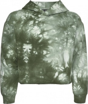 Blue Effect Mädchen Boxy Kapuzen-Sweat-Shirt / Hoodie army green batic