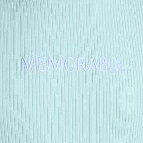 Blue Effect Mädchen geripptes T-Shirt MEMORABLE mint
