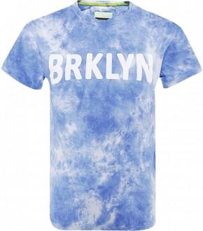 Blue Effect Jungen T-Shirt BRKLYN blau batik