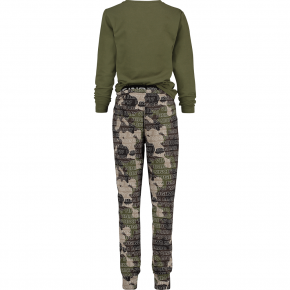 Vingino Schlafanzug/Pyjama WOLOF camouflage green 158/164 - XL