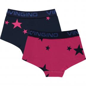 Vingino Hipster/Short 2er-Pack GLOW dark blue 170/176 - XXL