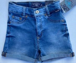 Blue Effect Mädchen High-Waist Jeans Short blue medium SLIM