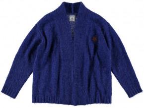 RETOUR Strick-Jacke/Cardigan LILIA bright blue